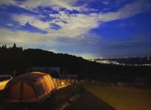 ベースキャンプはる夜景